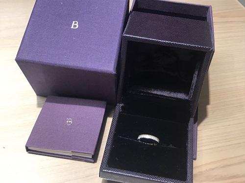 ブシュロン BOUCHERON キャトルラディアントリング ダイヤモンド 買取 渋谷