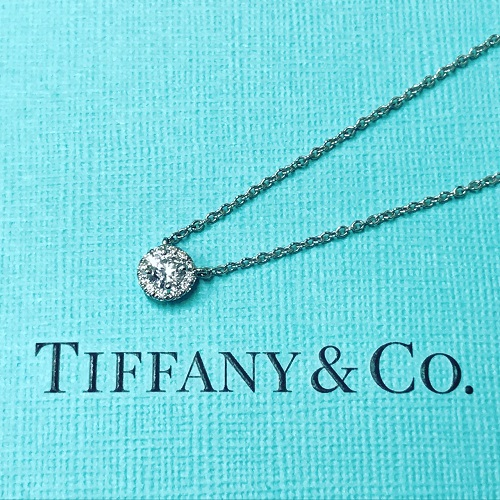 ティファニー(TIFFANY&CO) ソレストダイヤネックレス D0.18ct プラチナ 買取