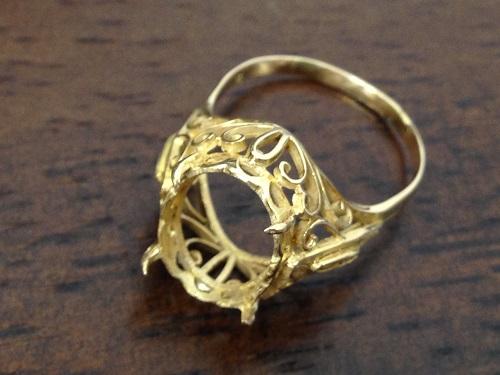 地金 18金 指輪 K18 貴金属