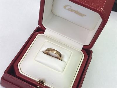 カルティエ(Cartier) ハッピーバースデーリング 750YG #49 カルティエ買取 三宮 元町 神戸
