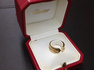カルティエ(Cartier) 2Cリング 750 8.1g 北山 買取