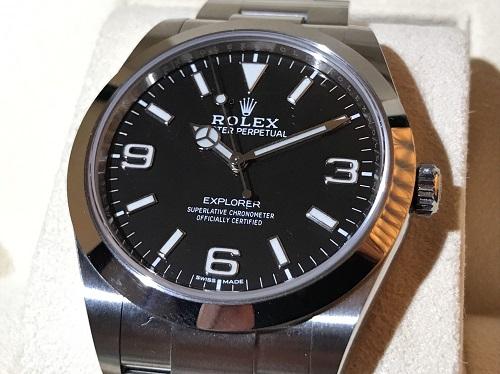 ロレックス ROLEX エクスプローラーⅠ 214270 ランダム SS 新型