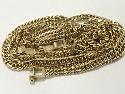 喜平ネックレス 18金 K18 750 貴金属 地金