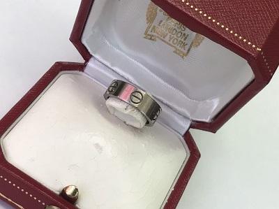 カルティエ(Cartier) ラブリング 750WG #49 カルティエ買取 三宮 元町 神戸