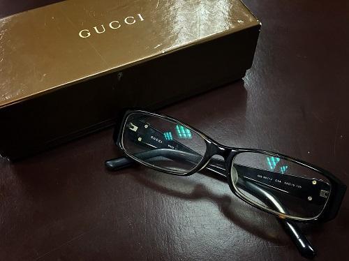 グッチ(GUCCI) メガネ 黒縁 サングラス