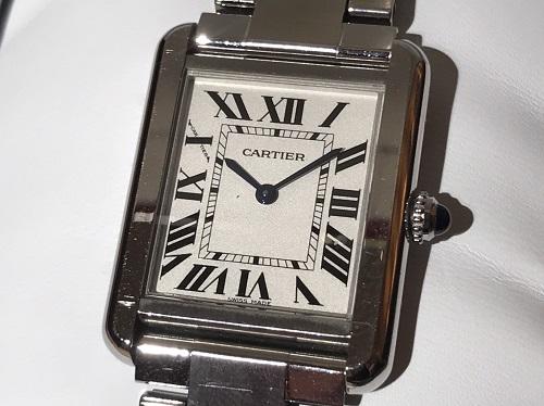 カルティエ Cartier タンクソロSM W5200013 SS クォーツ