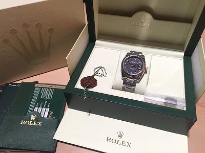ロレックス(Rolex)ターノグラフRef116264 G番 渋谷買取 マルカ