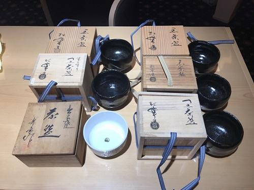 骨董品 昭楽 茶碗 一式 作家物 箱付き 北山店 上京区 左京区エリア
