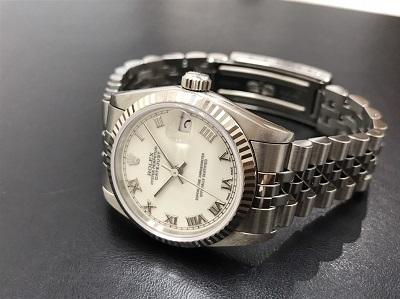 ROLEX ロレックス デイトジャスト ボーイズ Ref.68274 コンビ 腕時計 高価買取 七条店
