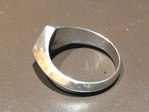 指輪 Pt900 プラチナ リング 11.7g 買取 渋谷 地金高騰