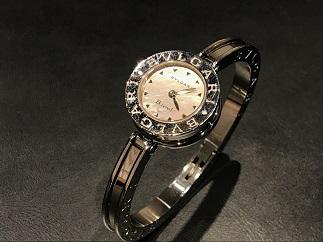 BVLGARI ブルガリ B-zeroバングルウォッチ BB22S シェル文字盤 時計買取 福岡 天神 博多
