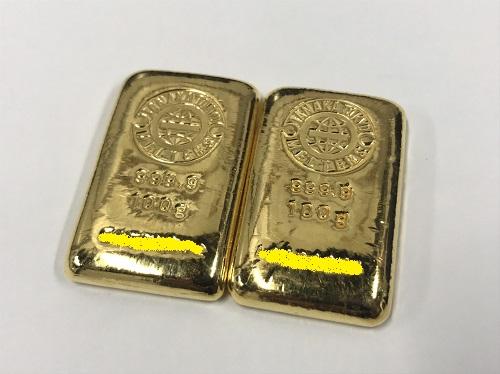 金 インゴット K24 200.0g 地金 高価買取 貴金属 渋谷