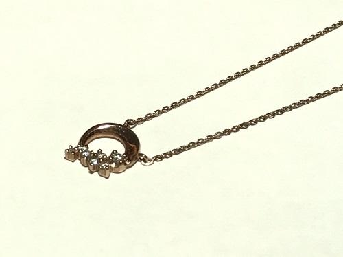ヨンドシー(4℃) ダイヤネックレス K10 1.5g 北山店 買取