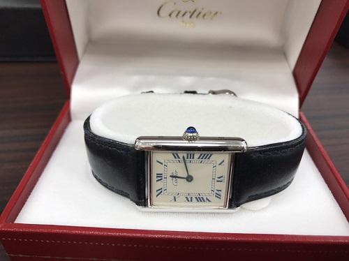 カルティエ(Cartier)マストタンク 腕時計買取マルカ(MARUKA)