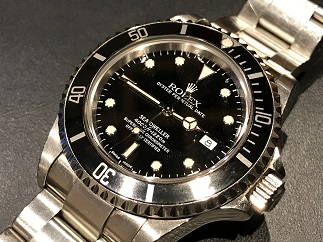 ROLEX ロレックス シードゥエラー Ref.16600 ダイバー 時計買取 福岡 天神 博多 質屋