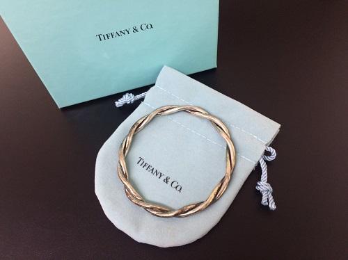 ティファニー(Tiffany) バングル SV925 ブレスレット シルバー アクセサリー 北山店 岩倉 左京区