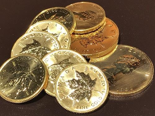 コイン メイプルリーフ 金貨 貴金属 地金 K24 純金