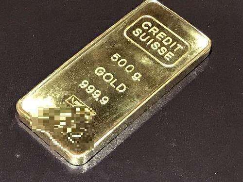 インゴット 金 バー クレジットスイス K24 純金 貴金属