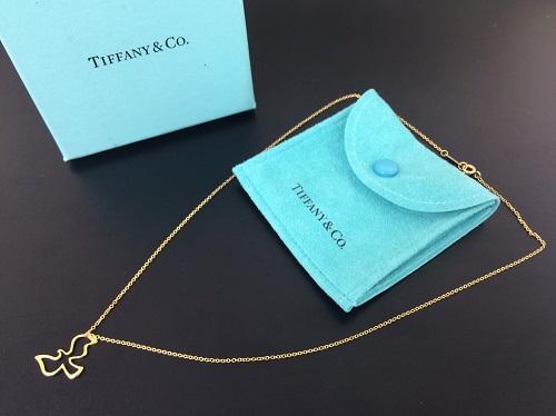 ティファニー(Tiffany) バードモチーフ ネックレス 750YG K18 貴金属 ジュエリー 北山店 出町 北区