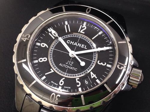 シャネル(CHANEL) J12 セラミック ブラック H0685 AT 買取 銀座