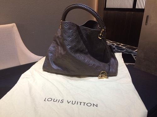 ルイヴィトン Louis Vuitton アーツィーMM アンプラント M94171 買取 銀座