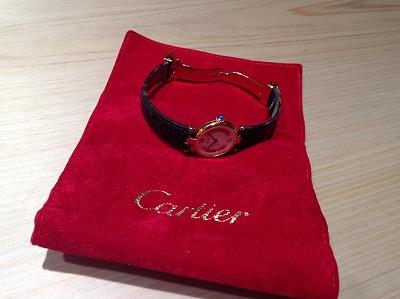 カルティエ(Cartier)レディースウォッチ ヴェルメイユ 買取 渋谷