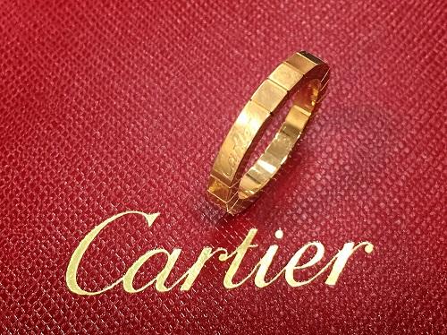 カルティエ(Cartier)ラニエールリング 750Pピンクゴールド ブランドジュエリー