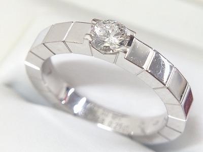 カルティエ(Cartier)ラニエール ソリテール 1PD 0.25ct 750WG 渋谷 買取