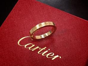 Cartier カルティエ ラニエールリング 750 ブランドジュエリー買取 福岡天神 博多 質屋
