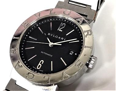 ブルガリ(BVLGARI)買取 ブルガリブルガリダブルロゴ時計 マルカ大阪心斎橋店買取