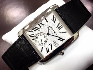 Cartier カルティエ タンクMC 腕時計買取 質屋 福岡 天神 博多