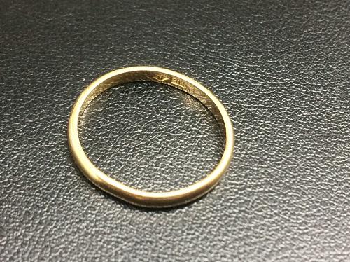 地金 指輪 18金 K18 750 貴金属 金高騰