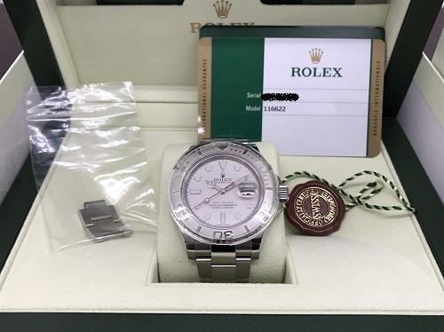 ロレックス(ROLEX) ヨットマスター 116622 ランダム品番 グレー文字盤 出張買取