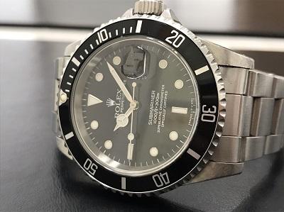 ROLEX ロレックス サブマリーナ Ref.16610 腕時計 本体のみ 高価買取 七条店