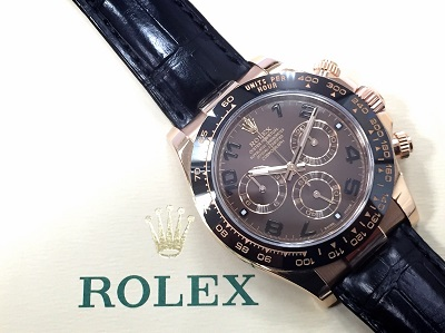 ロレックス(ROLEX)デイトナ Ref.116515LN チョコレートダイヤル ランダム品番