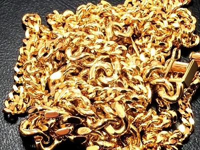 貴金属 K18 750 ネックレス 喜平 30.2g イエローゴールド 金 地金 買取