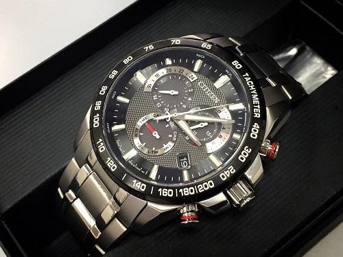 シチズン 腕時計 エコドライブ アテッサ E610 中古美品