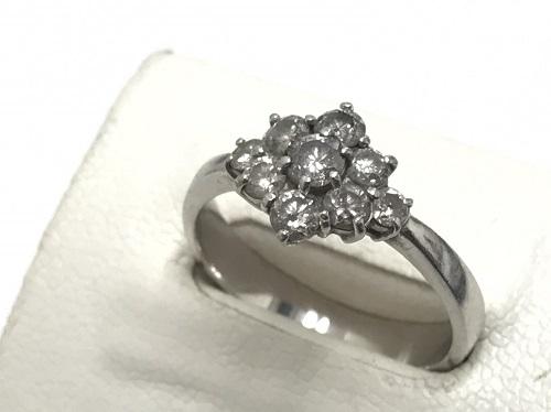 ダイヤモンドリング プラチナ Pt900 1.00カラット
