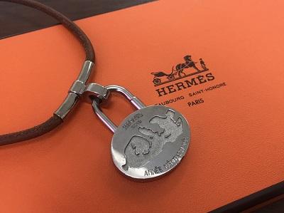 エルメス(HERMES) カデナチョーカー 地中海 シルバー エルメス買取 三宮 元町 神戸