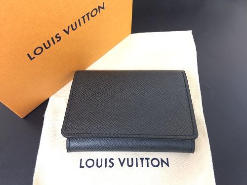 ルイヴィトン(LOUIS VUITTON)アンヴェロップ カルトドゥヴィジット カードケース タイガ 新品 北山店 ブランド買取