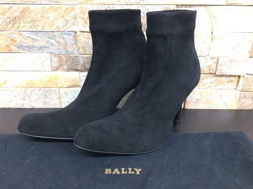 バリー (BALLY)ブーツ スエード レディース ブラック 美品 北山店 北山通り「きんこん館」ビル