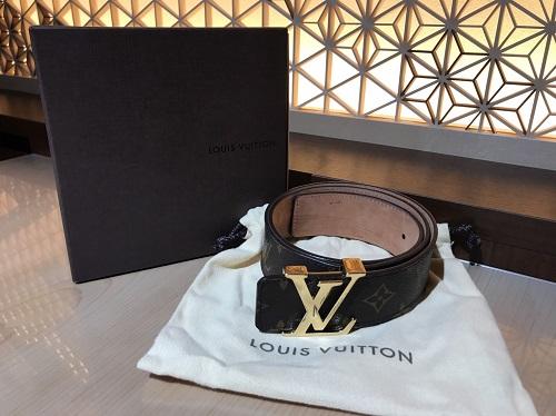 ルイヴィトン Louis Vuitton サンチュールイニシャル M9608 モノグラム 買取 渋谷