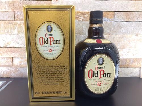 オールドパー(Old Parr) 12年 1000ML 未開封品 箱付 お酒 ウイスキー 北山店 京都市 出張買取