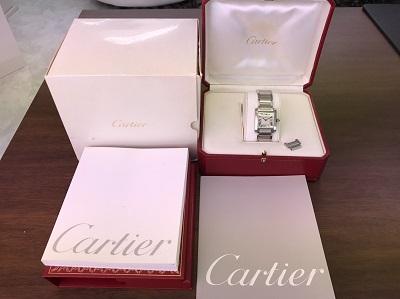 カルティエ(Cartier) タンクフランセーズ MM W51011Q3 カルティエ買取 三宮 元町 神戸
