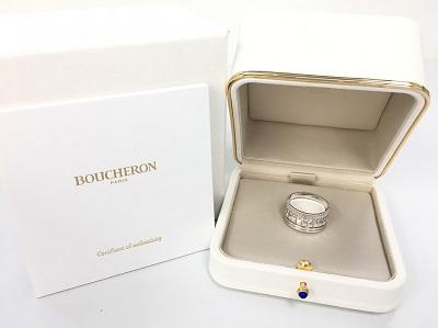 ブシュロン(BOUCHERON) キャトル ラディアント ダイヤリング ラージ 750WG ブシュロン買取 三宮 元町 神戸