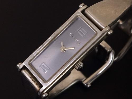 グッチ(GUCCI)レディース時計 ステンレス スクエア 1500L 腕時計 北山店 時計買取 左京区周辺