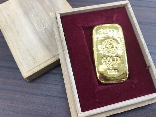 純金インゴット K24 100g買取 インゴット買取マルカ(MARUKA)