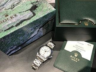ROLEX ロレックス エクスプローラー2 Ref.16570 F番 白文字盤 時計買取 質屋 福岡 天神 博多