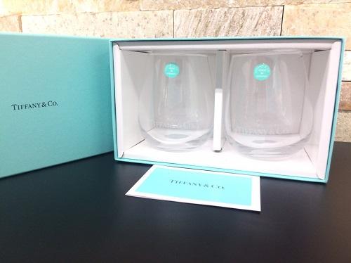ティファニー(Tiffany) ペアグラス タンブラー 未使用品 ブランド食器 北山店 関西 京都市 ブランド食器買取