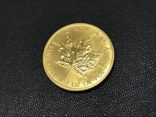 カナダ金貨 メープル 純金 K24 コイン 貴金属 地金